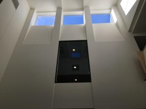 Skylight above kitchen